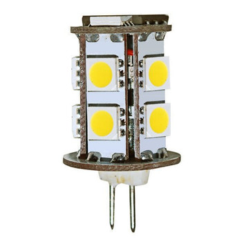 1.5 Watt G4 LED JC Lamp, 12V, 3000K
