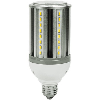 18 Watt LED Corn Bulb, E26 / E39 Base, IP64 Rated, 3000K