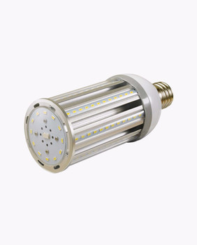 54 Watt LED Corn Bulb, E26 / E39 Base, IP64 Rated, 5000K