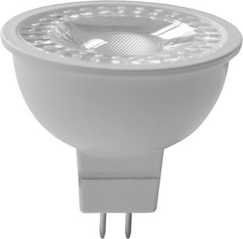 6W LED MR16 Bulb, Dimmable, 12V, G5.3 Base, 3000K