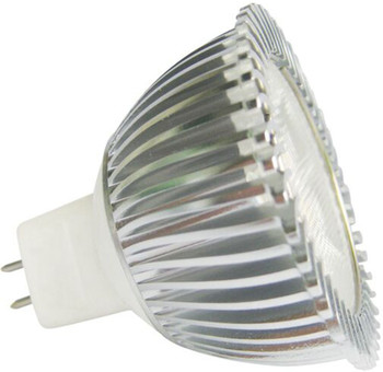 3.5W LED MR16 Bulb, 12V, G5.3 Base, Amber