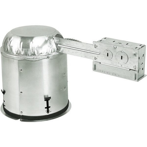 6 Inch Remodel Recessed Housing - E26 Socket - IC Rated
