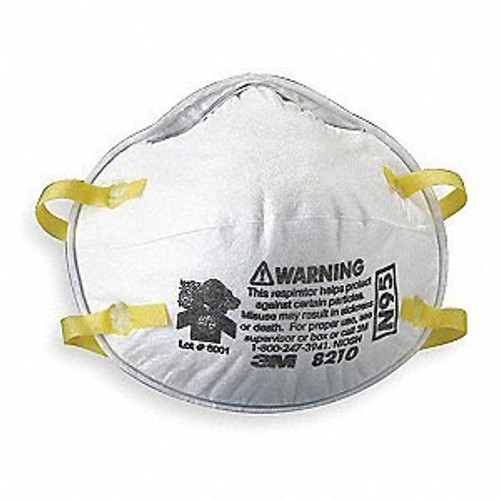 3M 8210 Plus N95 Disposable Respirator - Pack of 10