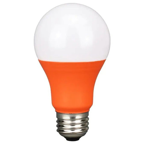LED Colored Bulb - 5 Watt A-Bulb - Orange