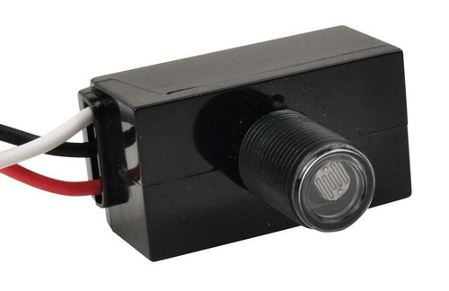 Button Photocell for LED Area Light and Wall Pack Fixtures 120-277V