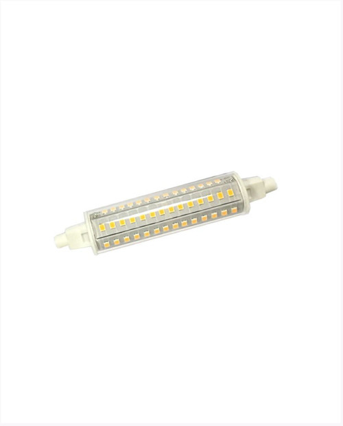10 Watt LED J118 Dimmable T3 Lamp, R7S Base, 120V, 3000K