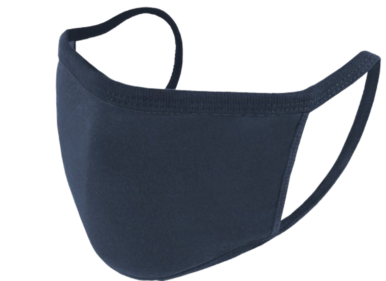 Reusable Face Mask - Navy - Pack of 5