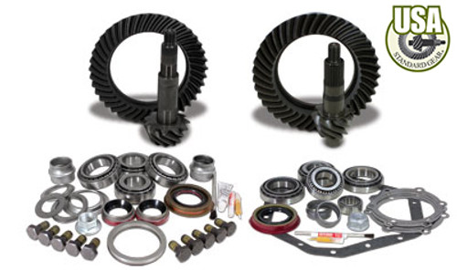 USA Standard Gear & Install Kit package for Reverse Rotation D60 & Î_'_Îé88 & down GM 14T, 5.13 thick.