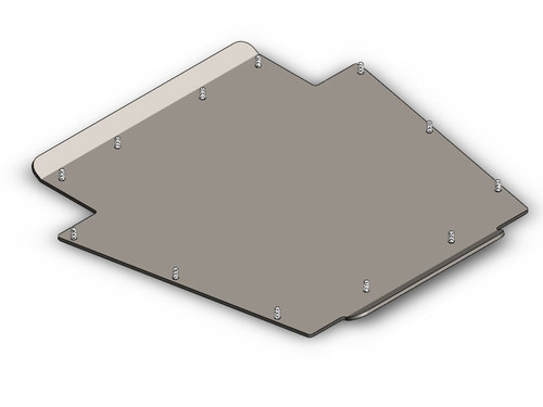 "XJ 1/4"" Transfer Case Skid Plate Clayton Offroad"