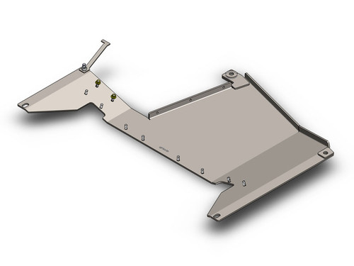 "JK 1/4"" Transfer Case Skid Plate 12-16 Clayton Offroad"