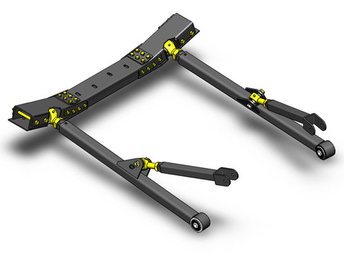 JK Front Long Arm Upgrade Kit 07-11 Clayton Offroad