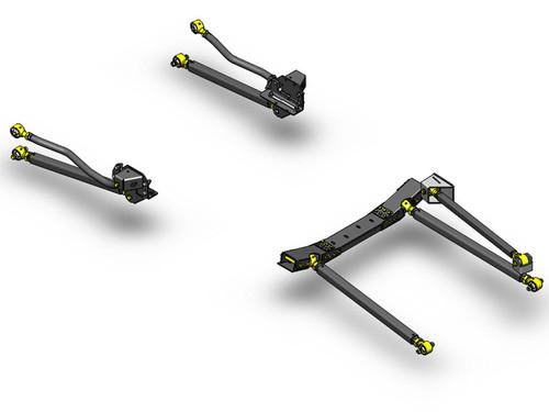 JK Pro Series 3 Link Long Arm Upgrade Kit 07-11 Clayton Offroad