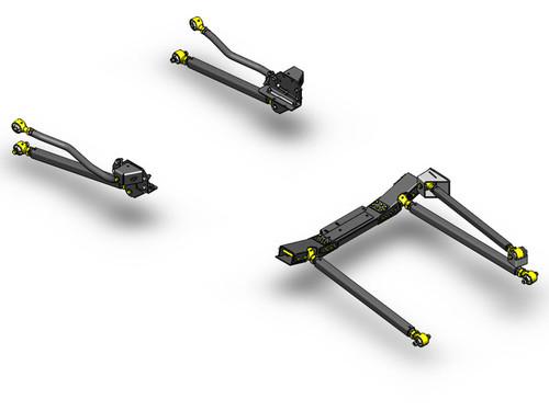 JK Pro Series 3 Link Long Arm Upgrade Kit 12-15 Clayton Offroad