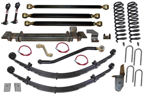 """XJ  6.5"""" Pro Series 3 Link Long Arm Lift Kit Clayton Offroad"""