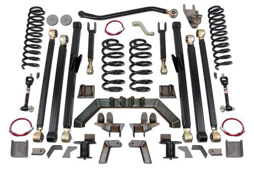 """TJ 5.5"""" Long Arm Lift Kit W/Rear 5"""" Stretch Clayton Offroad"""