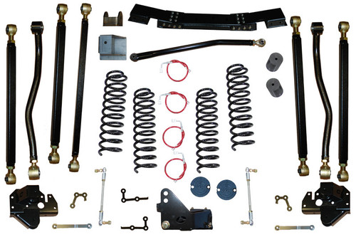 "JK 3.5"" Pro Series 3 Link Long Arm Lift Kit 07-11 Clayton Offroad"
