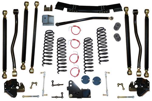 "JK 4.5"" Pro Series 3 Link Long Arm Lift Kit 07-11 Clayton Offroad"