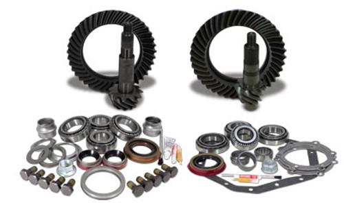 Yukon Gear & Install Kit package for Standard Rotation Dana 60 & Š—È88 & down GM 14T, 4.56 thick.