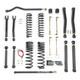 "Jeep Gladiator 3.5"" OVERLAND PLUS Lift Kit 2020+, JT"