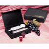 Communion-Remembrance Portable-Black LeatherLook (25 Cups)