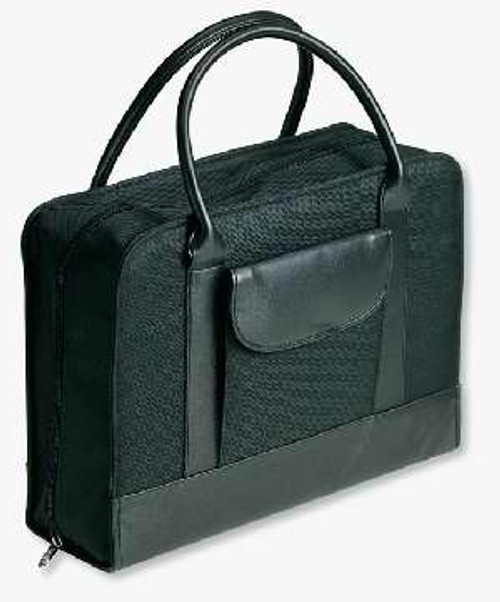 Bible Study Organizer Coal with Leather-Look Accents-Large