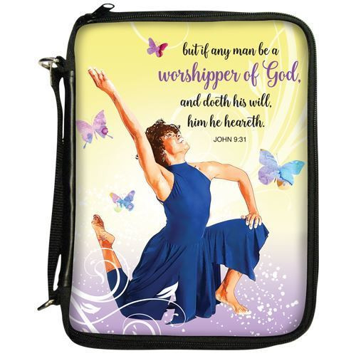 'Worshipper of God' Bible Cover