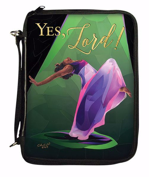 """""""Yes Lord!"""" Bible Cover"""