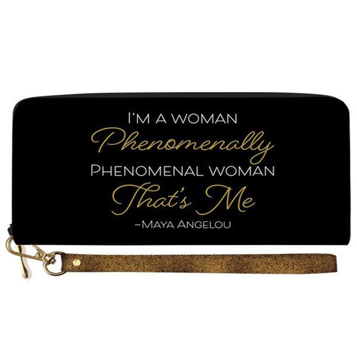 Maya Angelou Phenomenal Wallet