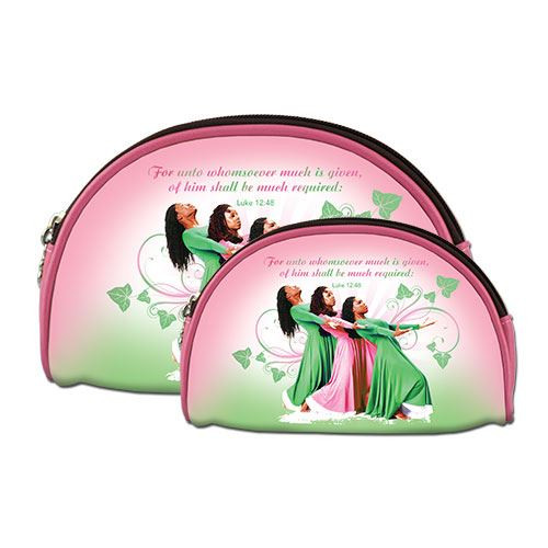 Three Ladies (Pink and Green) Cosmetic Duo