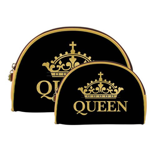 Queen Gold Crown Cosmetic Duo