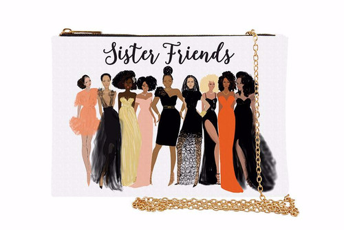 Sister Friends Chain Purse