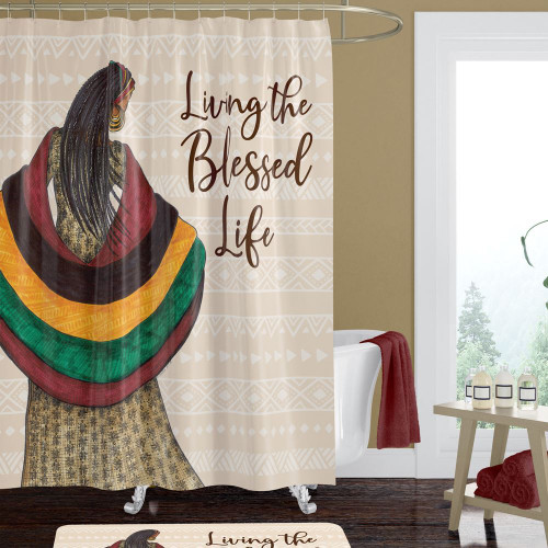 Blessed Life Shower Curtain