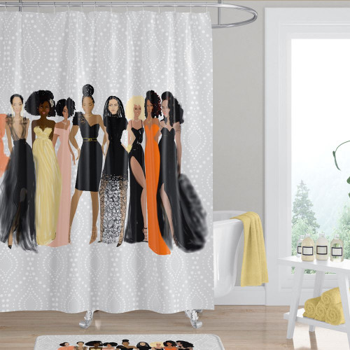 Sister Friends Shower Curtain