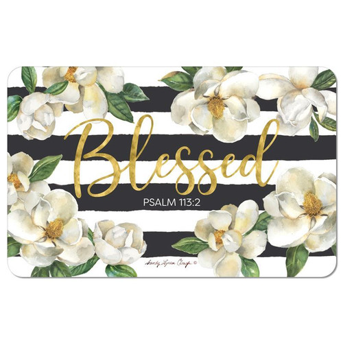 Blessed Magnolia Floor Mat