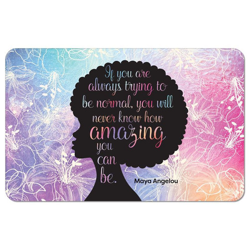 Amazing Quote Floor Mat