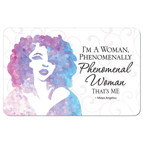 Phenomenal Woman Floor Mat