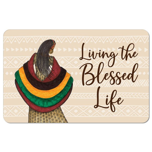 Blessed Life Floor Mat