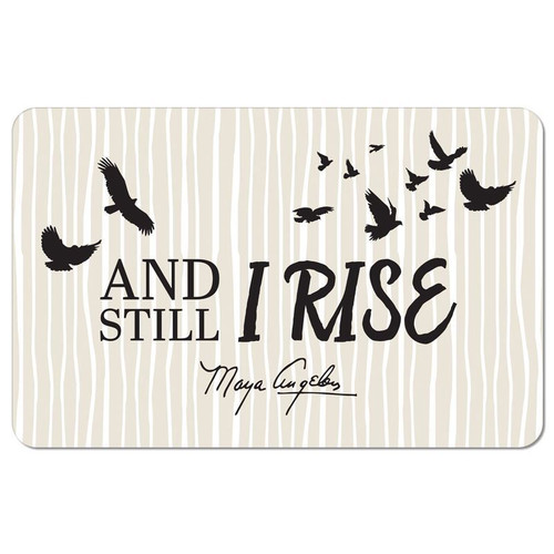 And Still I Rise Floor Mat