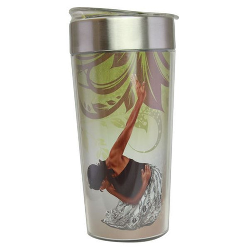 She Who Kneels Travel Cup