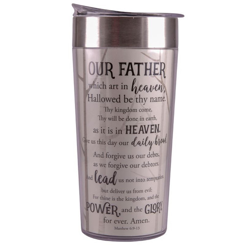 Lord's Prayer Travel Cup