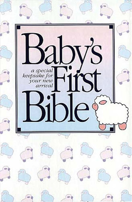 KJV Baby's First Bible-White Hardcover