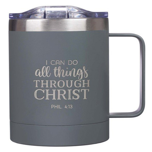 Camp Style Mug-All Things-Gray (Stainless)