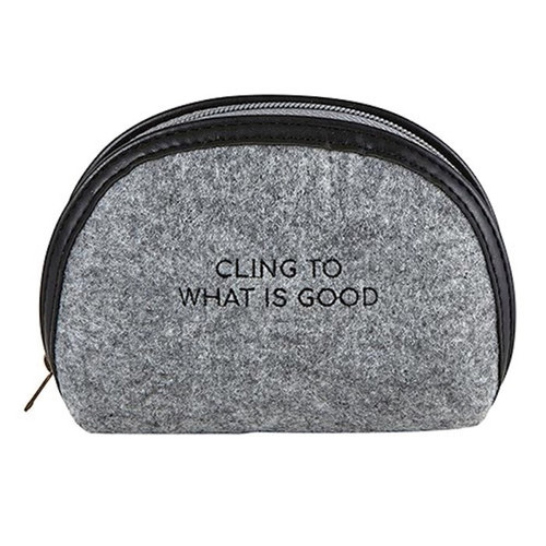 Accessory Pouch-Cling To What Is Good-Felt