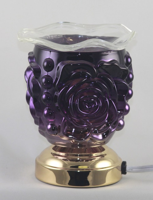 Purple Rose Electric Touch Burner