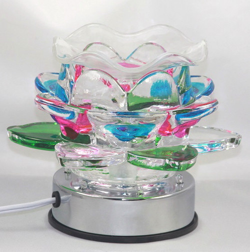 Electric Touch Oil Burner Lotus Flower