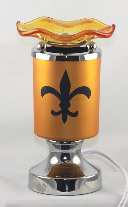Touch Sports Design Electric Oil Lamp Burner - New Orleans Saints