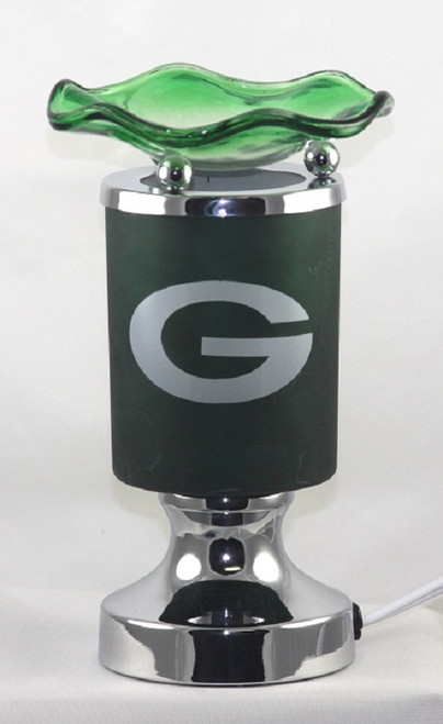 Green Sports Design Electric Oil Lamp Burner - Green Bay Packers