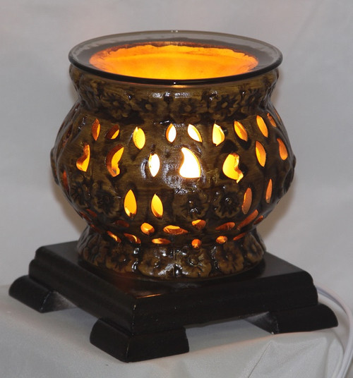 Pottery / Wood Electric Oil Burner