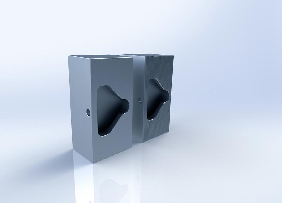 Aluminum Soft Jaws for Delta IV Vises