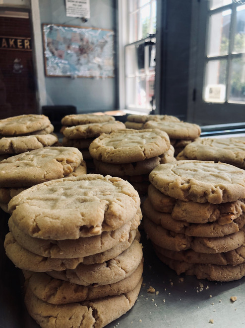 One Dozen Peanut Butter Cookies